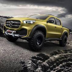 De Concept X-Klasse, de allereerste echte Mercedes-Benz pick-up.