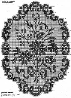 Only Crochet Patterns Part 8 - Beautiful Crochet Patterns and Knitting Patterns Lace Patterns, Knitting Patterns, Crochet Patterns, Seed Bead Flowers, Beaded Flowers, Crochet Tablecloth, Crochet Doilies, Filet Crochet Charts, Free Crochet
