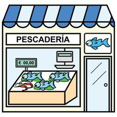 Pictogramas ARASAAC - Pescadería.