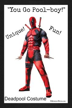 115ff9a34d Deadpool Costumes for Adults   Men