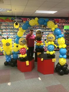 Check out our minions range for that special Birthday Party #birthday #party #mionions