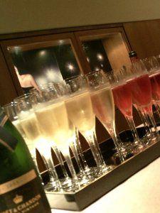 Champagne tasting at Moet & Chandon, Epernay, France