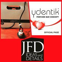 As viagens da JFD Ideas and Details passam agora a ser bastante mais agradáveis e aromáticas   Winner foi a fragância da Ydentik eleita para o nosso pópó.   Aproveita e escolhe a tua .... Ydentik - Parfum Bar Concept por todo o país