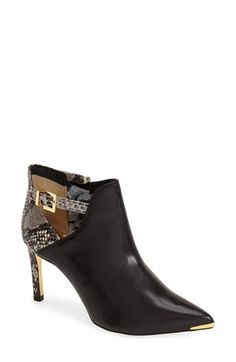 Ted+Baker+London+'Bariolo'+Cutout+Pointy+Toe+Bootie+(Women)+available+at+#Nordstrom