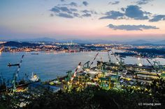 Hyundai Mipo Dockyard Co. (현대 미포조선소)- Ulsan, South Korea