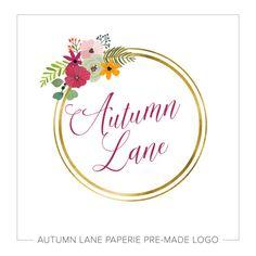 Premade Logo Design  Photography Logo  Modern by AutumnLanePaperie