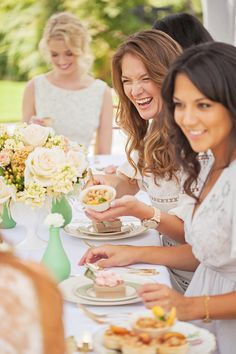 The perfect bridal shower & bridesmaids luncheon inspiration - a tea party that turns into a dashing pool party complete with mint bar cart! Bridesmaid Luncheon, Bridal Luncheon, Gold Bridesmaids, Ladies Luncheon, Afternoon Tea Parties, Lady, Wedding Inspiration, Wedding Ideas, Inspiration Boards