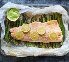 Bake this fabulous fish dish en papillote for a smart, seasonal main course that looks spectacular when served at the table