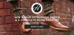 WIN a Pair of Hudson Shoes and a Complete Care Kit