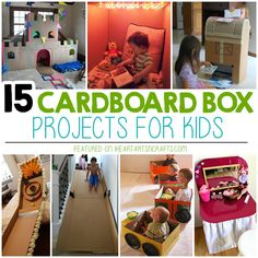 It's after the holidays and I have a pile of cardboard boxes that have taken over my house because I tend to hoard them to make fun forts with the kids. In fact, the most popular present my kids received this year was a cardboard pirate ship from a company called Box Creations. We usually order the …