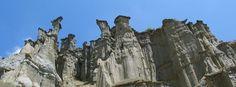 Young Fairy Chimneys in Kula, Manisa Province, Western Anatolia, Turkey