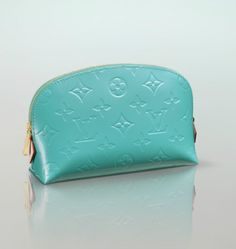 LV Cosmetic Pouch...Bleu Lagon...must have this!!!