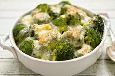 Slow Cooker Broccoli Cheese Casserole - Broccoli and Cheese what could be better!  www.GetCrocked.com