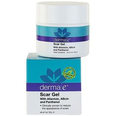 derma e Scar Gel derma e's scar-fighting gel gets rid of stubborn marks sans harmful ingredients. Vegan, cruelty-free, and formulated without paragons, GMOs, or sulfates, it's loaded with pro-vitamin B5. The 2-ounce container will last you awhile, too, as you only need to apply a tiny amount over the damaged area two to three times a day for eight weeks.