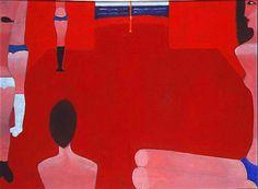 Jerzy Nowosielski | Niewolnice na morzu Egejskim | oil on canvas
