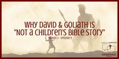 """In this episode of the CrossTalk podcast, Wes, Sam, and James discuss the biblical account of David and Goliath. What is the story really about? Why is it that we relegate it to the """"children…"""