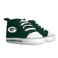 Green Bay Packers Baby Pre Walker Hightops