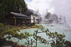 Relax in these hot springs in Japan