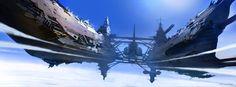 Science-Fiction-Konzeptkunst von Thomas Pringle – What an ART - 8 Spaceship Art, Spaceship Concept, Concept Ships, Spaceship Design, Art Thomas, Concept Art World, Sci Fi Ships, Alien Worlds, Cg Art