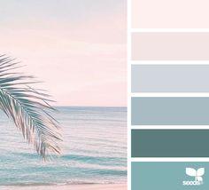 Explore Design Seeds color palettes by collection. Coastal Color Palettes, Coastal Colors, Tropical Colors, Summer Color Palettes, Best Bedroom Colors, Bedroom Color Schemes, Colour Schemes, Color Combinations, Design Seeds