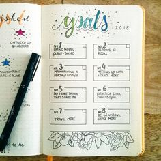 20 bullet journal layout ideas to help you become more productive and . - 20 Bullet Journal Layout Ideas That Will Help You Be More Productive and Organized – - Bullet Journal Goals Layout, Bullet Journal Planner, Self Care Bullet Journal, Organization Bullet Journal, Bullet Journal Monthly Spread, Bullet Journal Ideas Pages, Planner Organization, Journal Pages, Life Planner