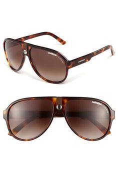 Carrera Eyewear 60mm Aviator Sunglasses available at #Nordstrom