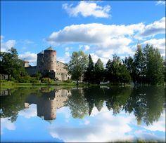Olavinlinna Castle. Savonlinna, Finland