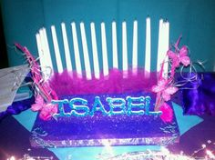 Sweet 16 candle ceremony