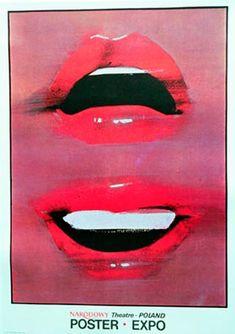 Waldemar Swierzy 1981 Graphic Design Typography, Graphic Design Illustration, Illustration Art, Vintage Prints, Vintage Posters, Laurent Durieux, Pop Art, Polish Posters, Value In Art