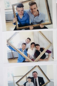 Photo booth with frames is easy and fun