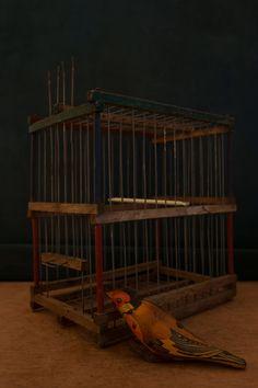Antique rare wooden Bird Cage. c. 1920's di Daedaleum su Etsy Wooden Bird, Bird Cage, I Shop, Vintage Items, Antiques, Etsy, Antiquities, Birdcages, Antique