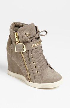 1e65c0feb5f2 Steve Madden  Obsess  Wedge Sneaker available at  Nordstrom want! Keil  Sneaker,