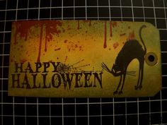 """Happy Halloween"" Tag by Ms. Ruin"