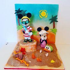 Disney Beach Cake