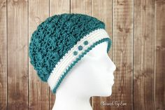 Celestial Hat, free crochet pattern in 4 sizes from child through adult large on Charmed by Ewe