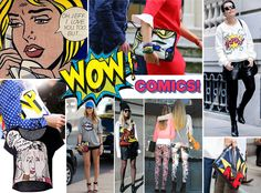 TREND ALERT: COMIC AND GRAPHIC PRINTS HIT THE STREETS!