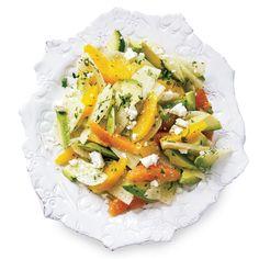 Feta is a fun, briny addition to this salad's Mexican mix of jicama, avocado and cilantro.     More Fruit Recipes   ...