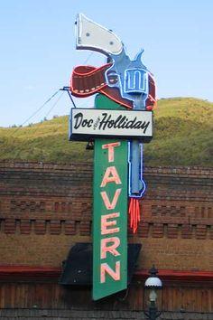 Doc Holliday Tavern, Glenwood Springs, Colorado.