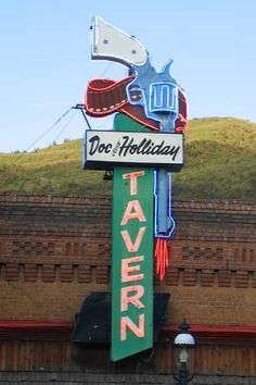 Doc Holliday Tavern, Glenwood Springs, Colorado.