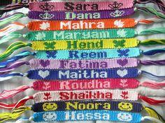 Comment écrire un prénom sur un bracelet brésilien ?