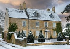 Winter in the Cotswolds