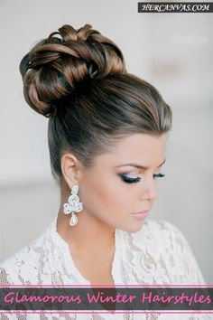 45 Glamorous Winter Hairstyles you will Fall in Love With   http://hercanvas.com/glamorous-winter-hairstyles-you-will-fall-in-love-with/