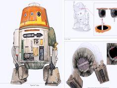 Chopper Concept Art Details - Star Wars Rebels Photo (38352308) - Fanpop