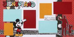 """12""""x12"""" layout kit: Disneyland... I Only Hope..."""