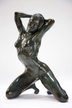sculptures d'Yves Pirès 2010 • bronze (cat # 84)