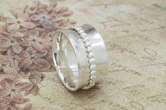 Sterling Silver Spinner Ring - Sterling Spinner - Fidget Ring - Meditation Ring by EmmalynnJewellery on Etsy https://www.etsy.com/listing/221469248/sterling-silver-spinner-ring-sterling