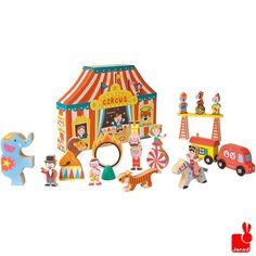 Janod Story Box het circus - 19-delig