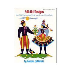 Folk Art Designs From Polish Wycinanki and Swiss and German Scherenschnitte