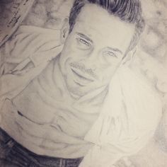 Luca  Pencil portrait drawing
