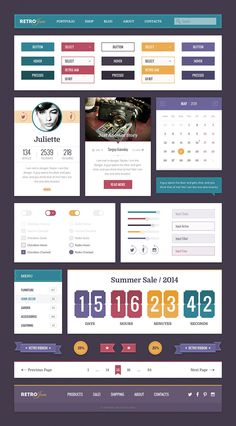 Free Professional UI Kit Bundle, #Buttons, #Calendar, #Checkbox, #Dropdown, #Flat, #Form, #Free, #Menu, #Navigation, #Pagination, #Profile, #PSD, #Quotes, #Radio, #Resource, #Retro, #Ribbon, #Search_Field, #Sign_up, #Slider, #Switch, #Toggle, #Tooltip, #UI